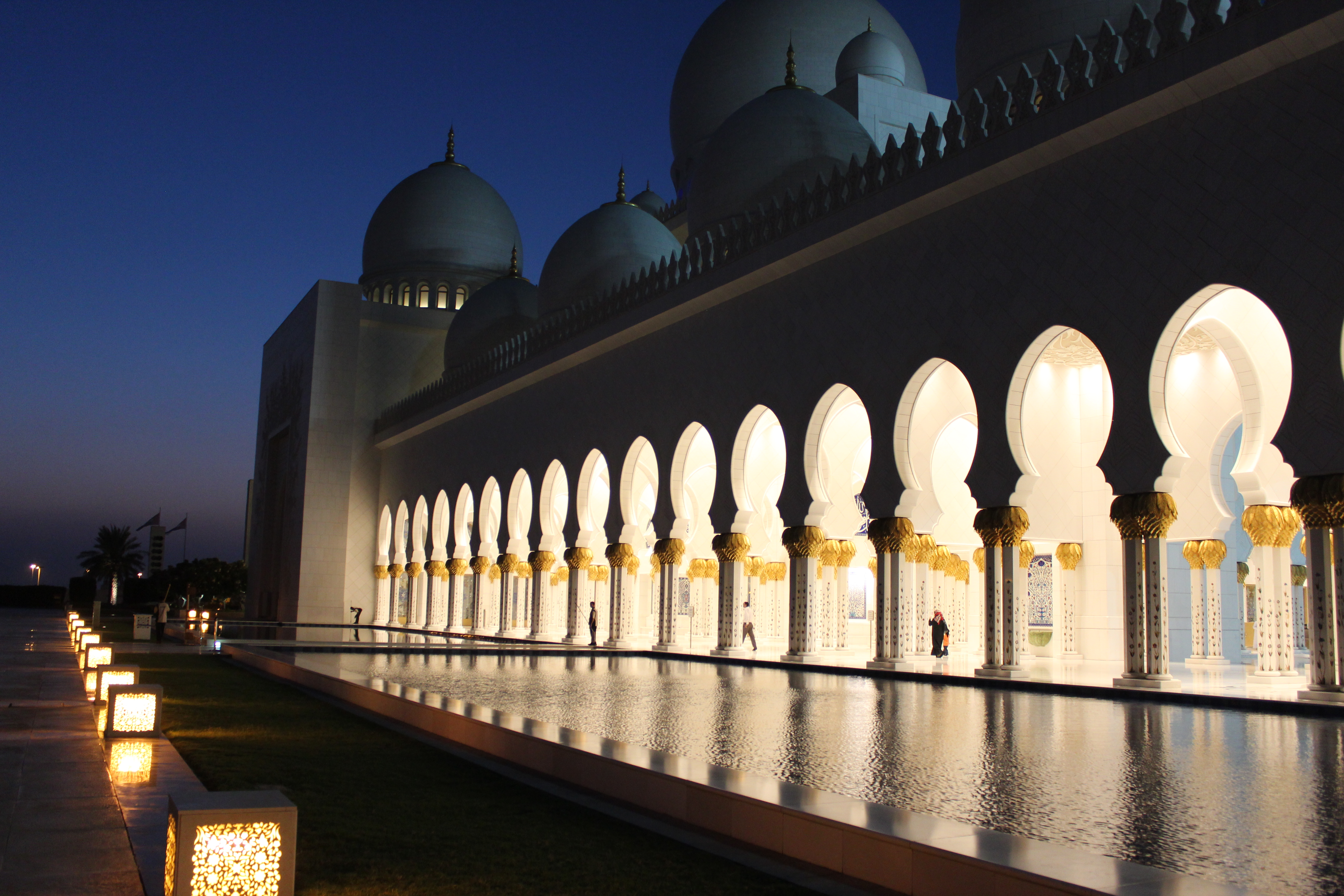Grand Mosque Abu Dhabi The Might As Wellers