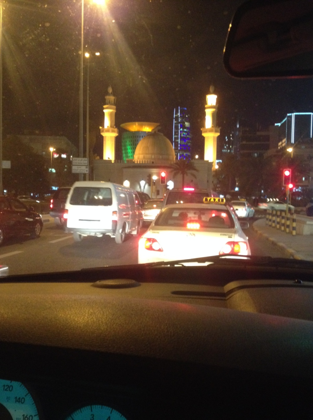 mosque roundabout